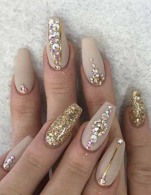 Pretty ideas for nude colored nail designs nude color nail designs prinsesfo Image collections