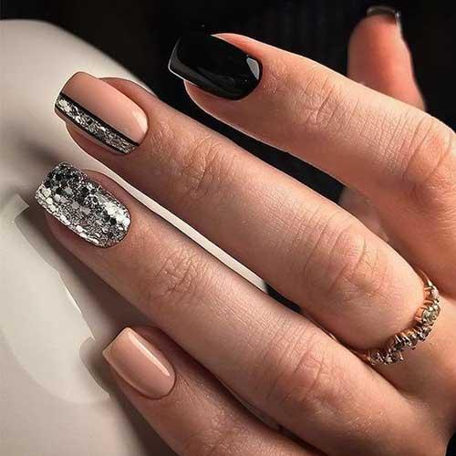 Glittered Nail Designs-10