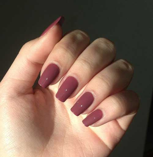 10Squoval Nail Shape
