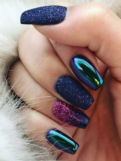 Glittered Nail Designs-16