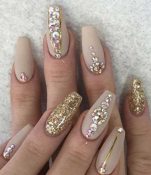 Glittered Nail Designs-17