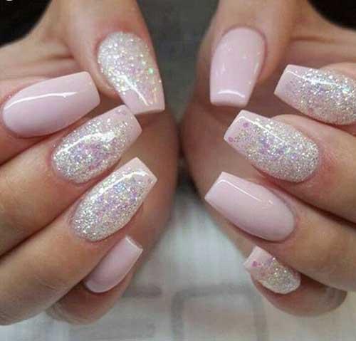Glittered Nail Designs 2017