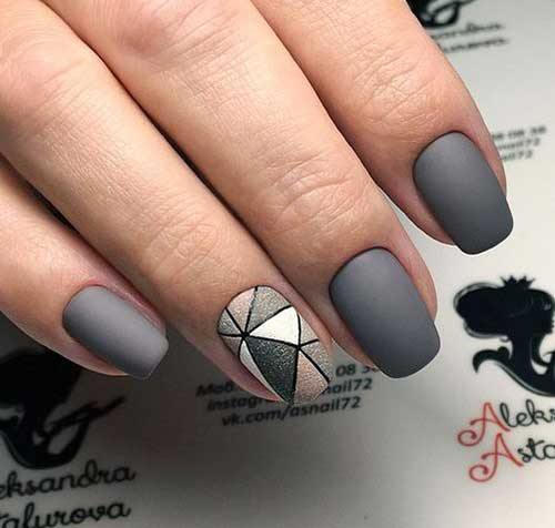 Squoval Nail Shape Art