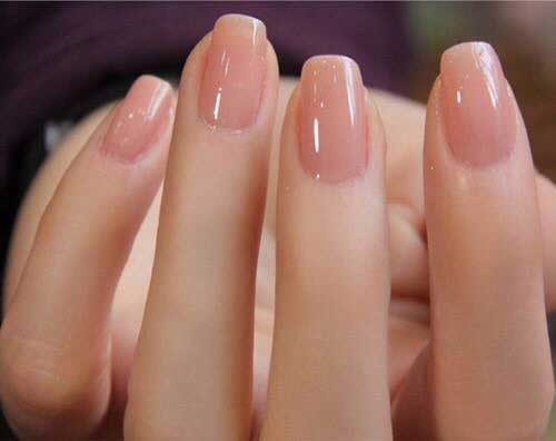 Natural Squoval Nail Style