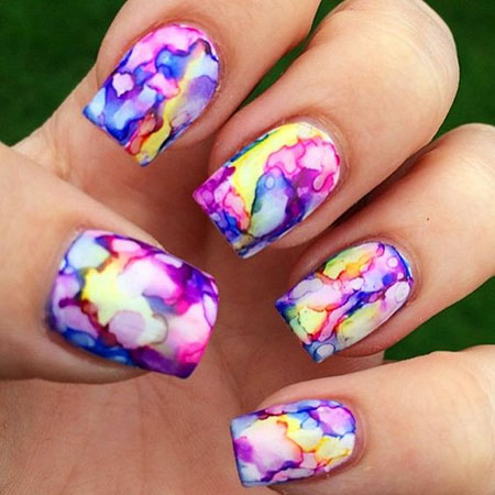 Floweral Nail Art Spring Season Flower Design