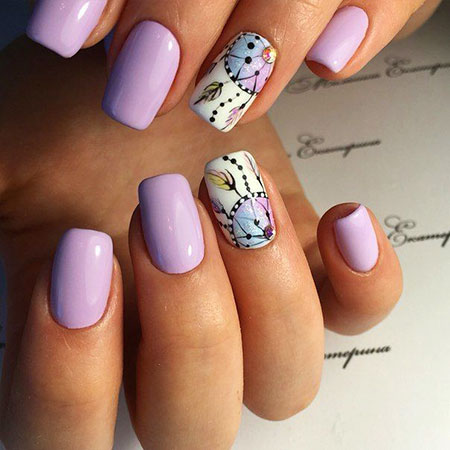 25 Popular Ring Finger Nail Art Designs - Nail Art Designs 2017