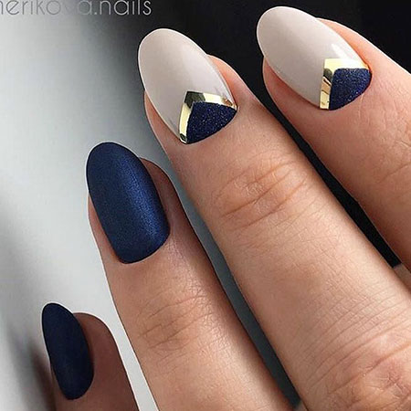 Short Nail Art Ideas, Nail, Stiletto, Manicure, Different, Design - 25 Beautiful Short Nail Art Ideas - Nail Art Designs 2017