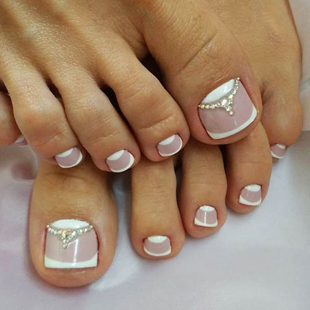 20 Nail Art Ideas for Toes - Nail Art Designs 2017