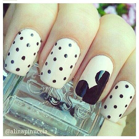 Mickey Mouse, Mouse, Mickey, Season, Pattern, Nail