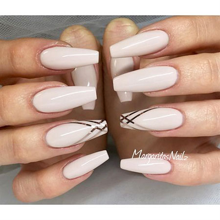 Nude Nail, Nail, Nude, Coffin, Stiletto, Glam, Design, Art