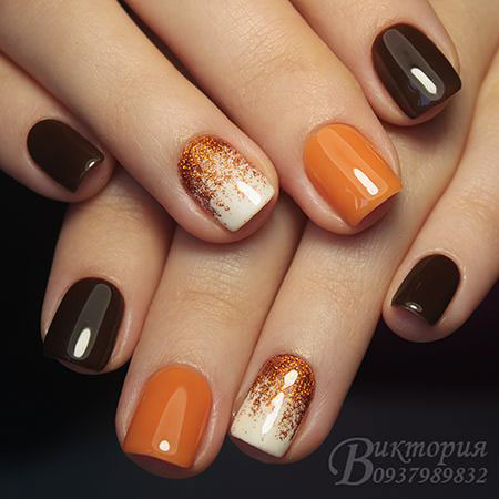 Nail Art Ideas for for Fall, Nail, Manicure, Art, Varnish
