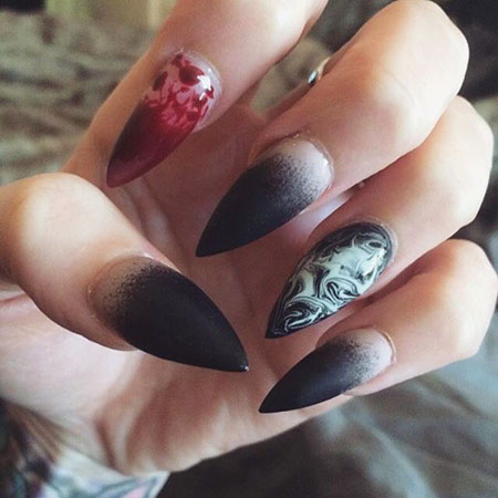 Halloween Nail, Nail, Stiletto, Art, Witch, Stilettos, Halloween
