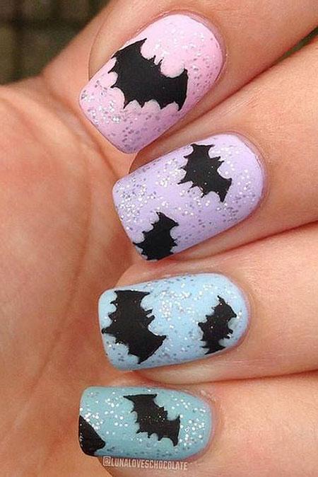 Scary Nail, Nail, Halloween, Art, Scary, Polish, Design