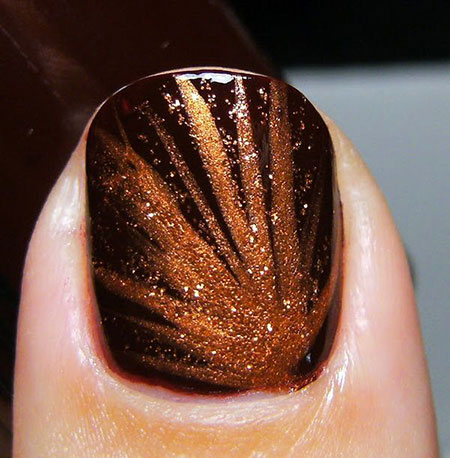 Thanksgiving Nail, Nail, Thanksgiving, Fall, Swatch