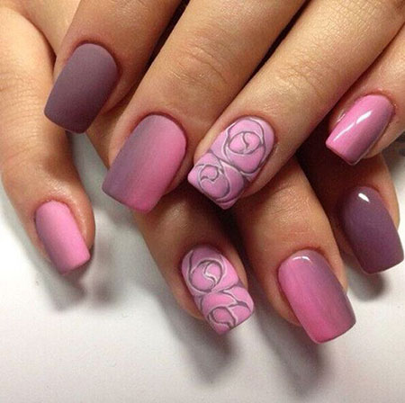 Rose Nail Art, Nail, Spring, Manicure, Design, 207, World
