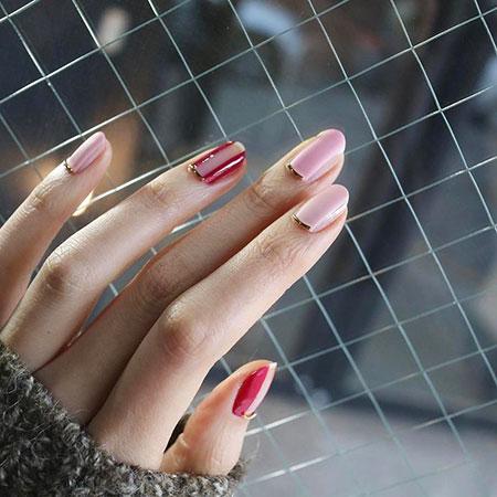 Nail Art 207, Nail, Pink, Manicure, Design, Art