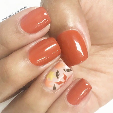 Leaves Nail Art, Nail, Polish, Fall, Zoya, Thanksgiving