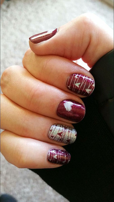 Fall Nail Designs, Nail, Jamberry, Fall, Summer, Gel, Design, Art
