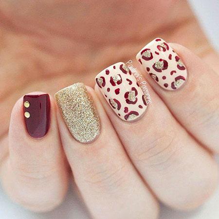 Leopard Nail, Nail, Leopard, Animal, Print, Art, Winter