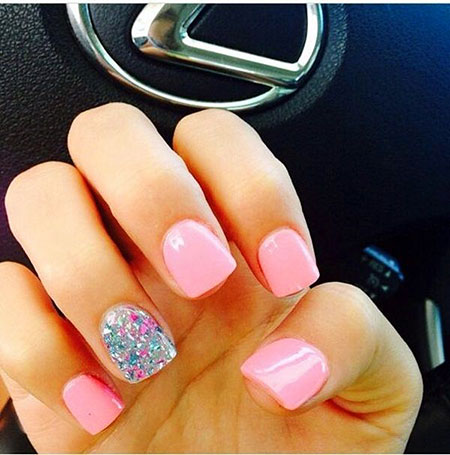 Sparkle Nail, Nail, Sparkle, Pink, Stars, Party, Design, Days