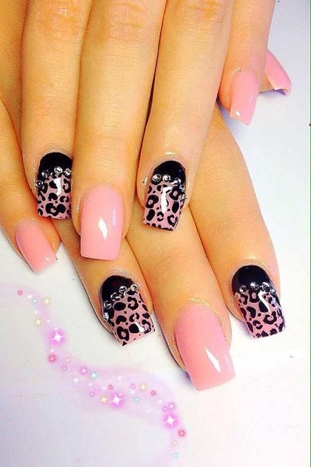 Pink Nail Design, Nail, Art, Design, Pink, 207