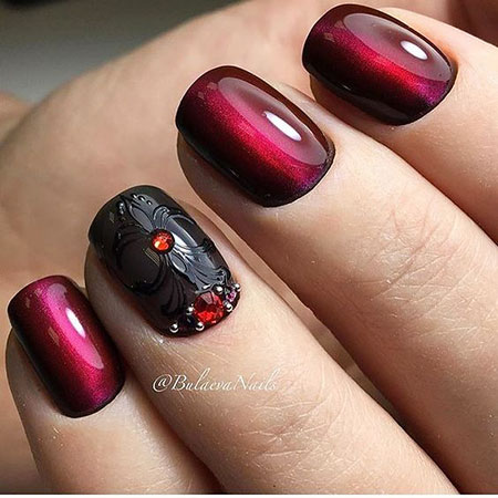 Red Nail, Nail, Swatch, Polish, Opi, Manicure, Halloween, Glaze