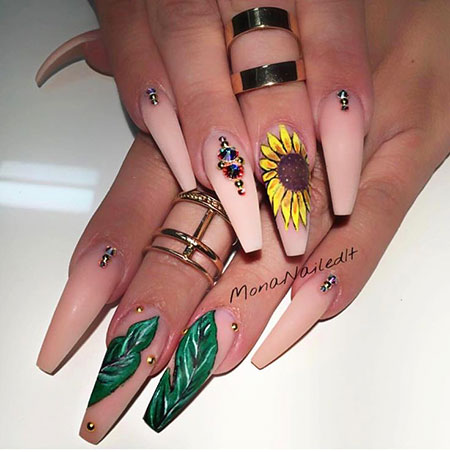 Coffin Nail Art, Nail, Art, Galleries, Design, Coffin, Acrylic