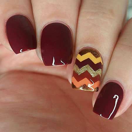 Pretty Nail, Nail, Fall, Thanksgiving, Tape, Pretty, Halloween
