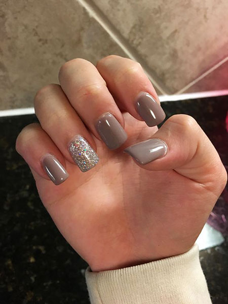 Nail Art Ideas for Fall, Nail, Polish, Season, Glitter, Gel