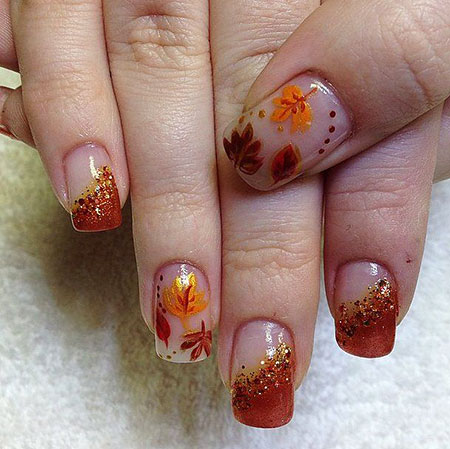 Fall Nail Art, Nail, Fall, Art, Pumpkin, Design, Autumn