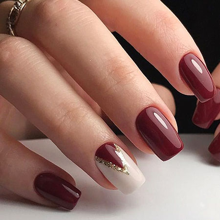 18 beautiful classy nail art ideas nail art designs 2017 burgundy and nude nail design special prom nude manicure prinsesfo Gallery