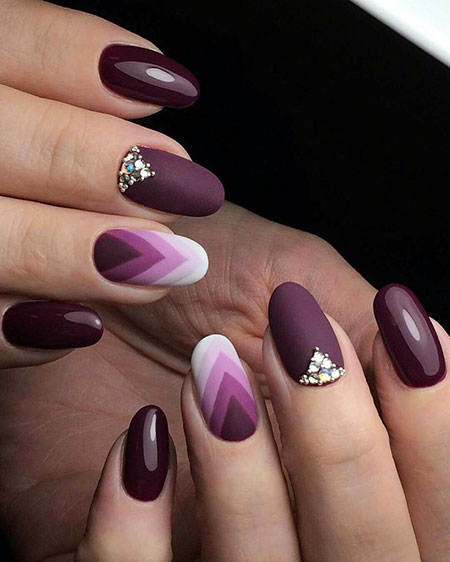Fall Nail, Nail, Manicure, Art, Gem, Fall, Design