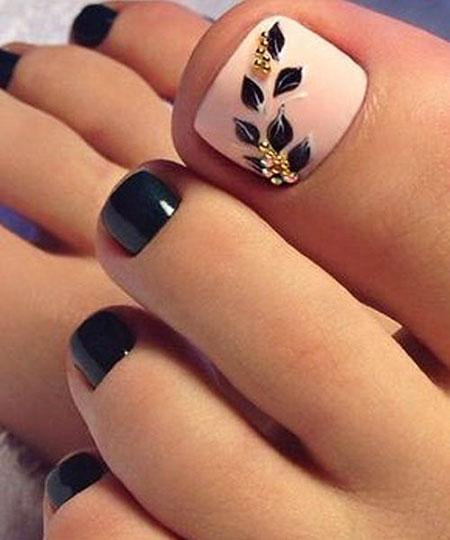 Fall Toe Nails, Toe, Nail, Gold, Glitter, Fall, Design, Beach, Art