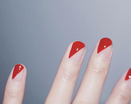 Red Nail, Polish, Over, Nail, İnteresting, Easy, Colors, Candy