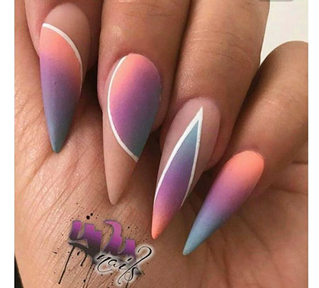 8 Stiletto Nail Art Ideas 2017113188 Nail Art Designs 2017