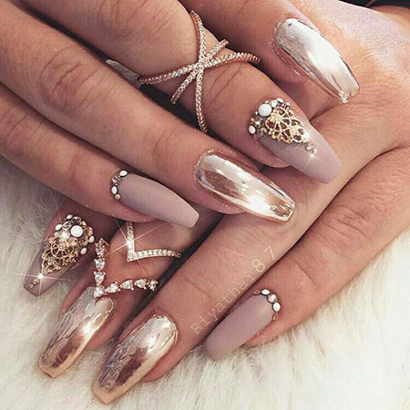 Prom Nail, Nail, Prom, Pretty, Glitter, Design, Coffin