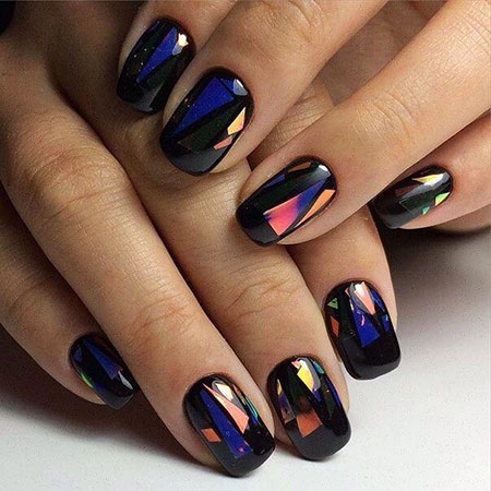 Square Nail, Nail, Manicure, Design, Art, Square, Polish
