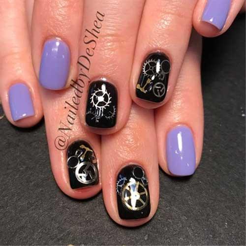Steampunk Nail Designs-9