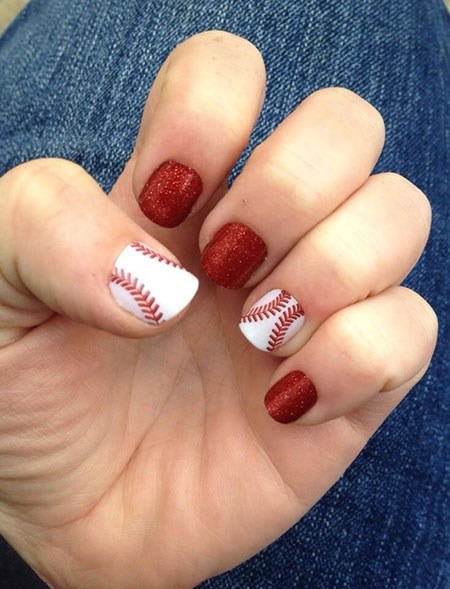 Baseball Cane Candy Jamberry