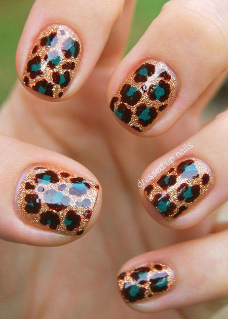 10 Cheetah Nail Design 316 Nail Art Designs 2017
