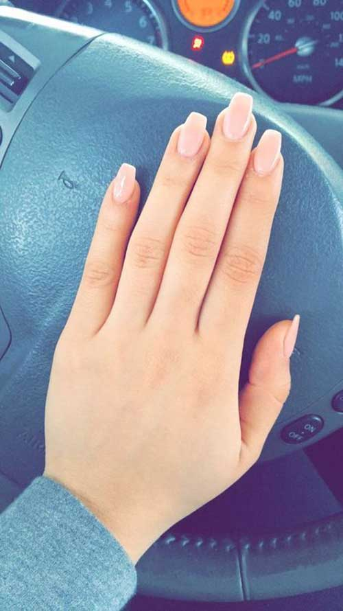 10+ Square Shape Nail Designs