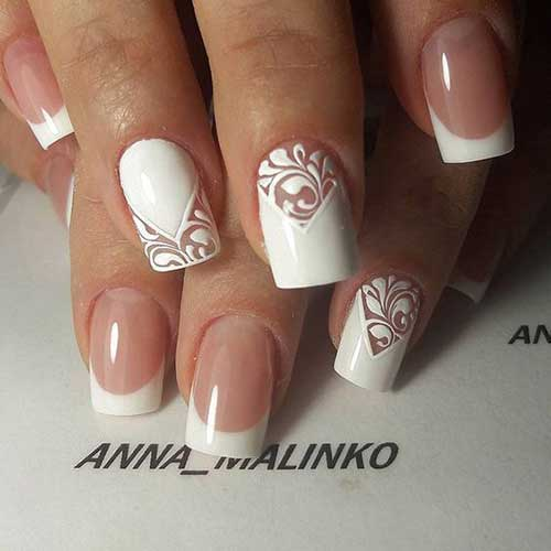 2018 Wedding Nail Designs-10