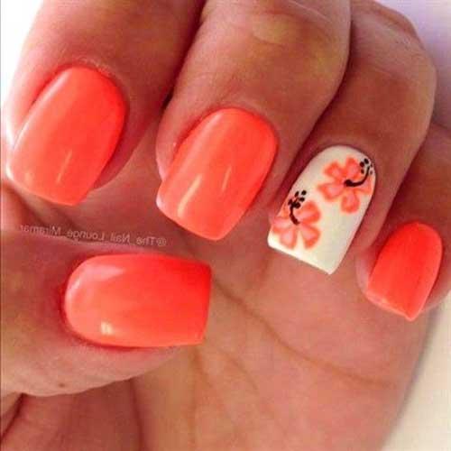 Vivid Colored Nail Arts-11