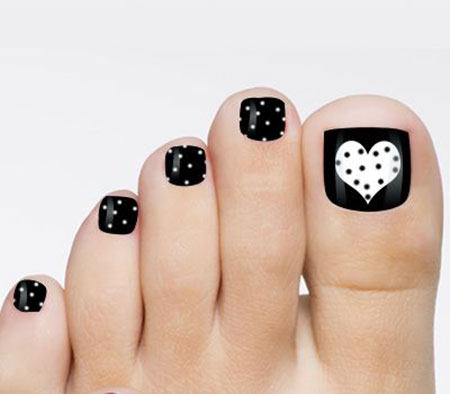 13 Toe Nail Designs Valentines 92 Nail Art Designs 2017