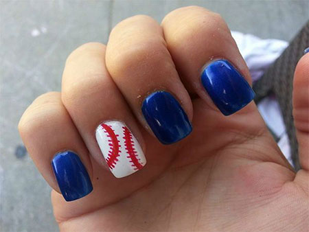 Baseball July Blue Fan