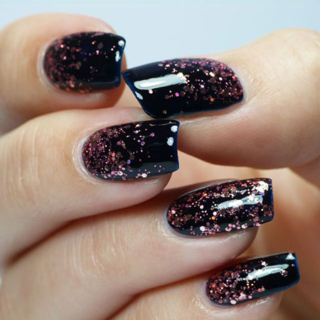Polish Glitter Ideas Easy