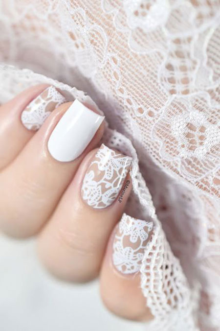 Lace Day Basic White