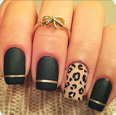 18 Cheetah Nail Design