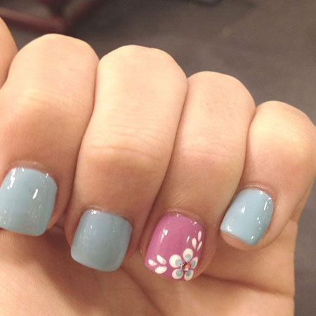 Manicure Cute Spring Ombre