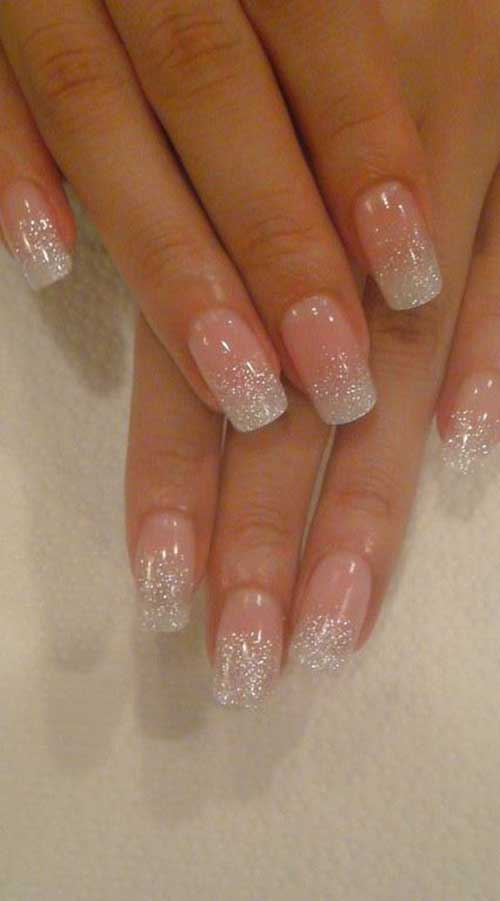 2018 Wedding Nail Designs-15